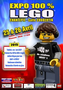 Affiche / Flyer de l'expo de Chantepie