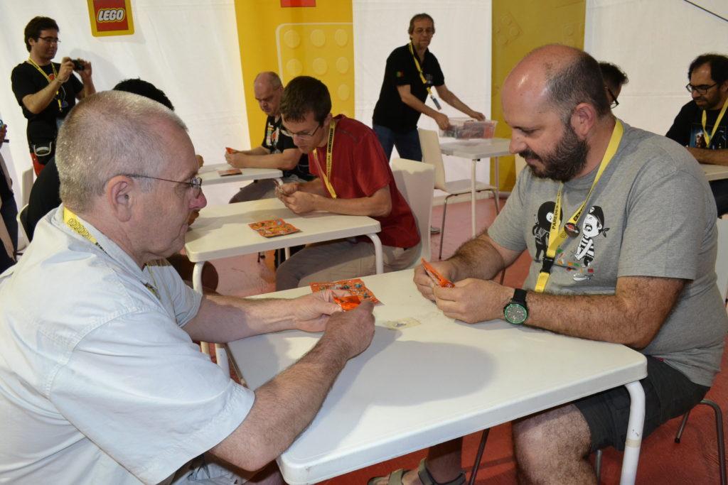 Paredes de Coura - Jeux (concours de reconnaissance tactile avec Erik et Bruno)